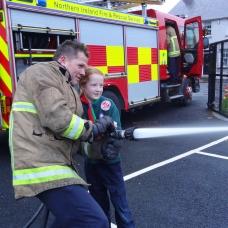 NI Fire & Rescue Service visit