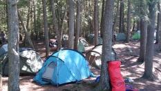 Explorers camping