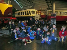 Cubs at the Transport Museum