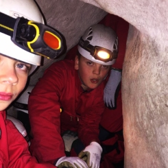Caving at Belfast Activity Centre