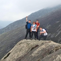Conquering the Mournes!