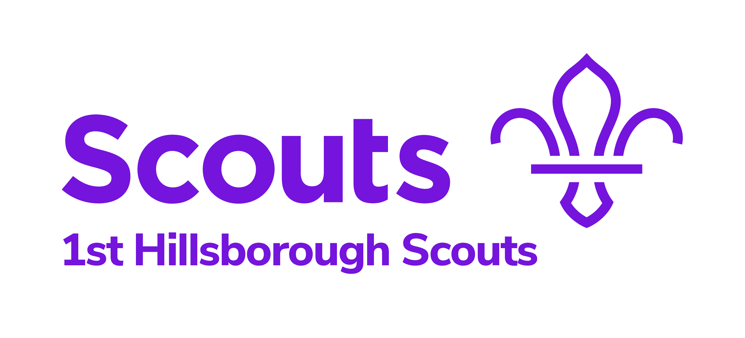 1st Hillsborough Scouts New Logo